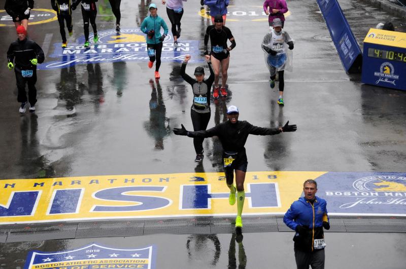 Marcus Brown—Boston Marathon 2018 – Six Star Finish