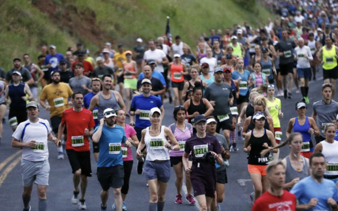 Double Race Reports – Deseret News Half and Marathon